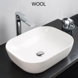 Lavabo d'appoggio serie Wool - 1