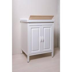 Mobile lavatoio in Abs  e lavatoio in Ceramica 60x50 - 1