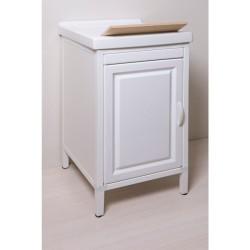 Mobile lavatoio in Abs  e vasca in ceramica cm 45x51 - 1