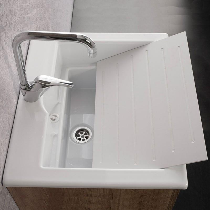 Lavandino con lavatoio